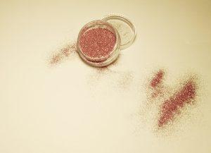 Σκόνη Glitter Ροζ