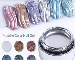 Drawing gel polish silver 01