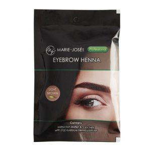 Henna Eyebrow Tint  Light Brown(5 τεμάχια)
