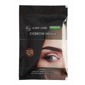 Henna Eyebrow Tint medium brown (5 τεμάχια)