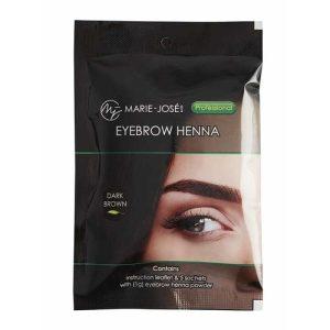 Henna Eyebrow Tint dark brown ( 5 τεμάχια)