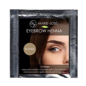 Henna Eyebrow Tint blonde( 5 τεμάχια)