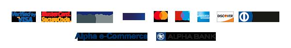 ασφαλείς πληρωμές με κάρτες