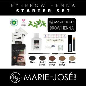Henna Eyebrow Starter Set
